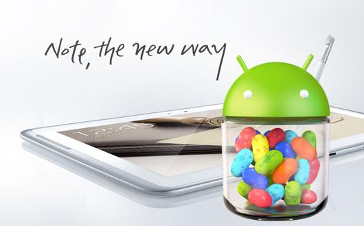 Galaxy Note 10.1 Jelly Bean
