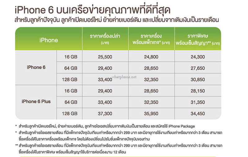 iphone 6 and 6 plus discount ais