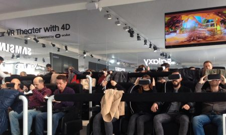 Samsung Gear VR 4D Theater