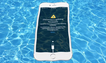 iPhone with waterproof