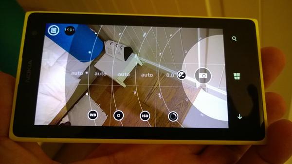 Nokia camera ui  lumia 1020
