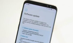 Samsung Galaxy S8 OTA Update