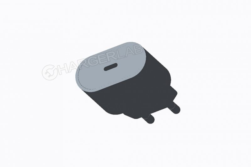 3D renders of the USB-C Adapter Quick Charge for the upcoming iPhones 2