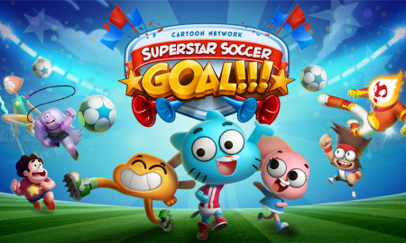 Cartoon Network Superstar Soccer Goal!!