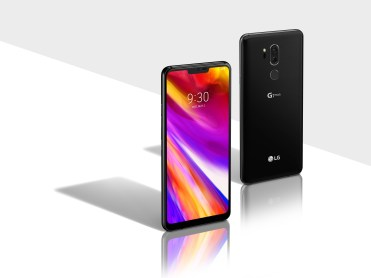 LG G7 ThinQ New Aurora Black