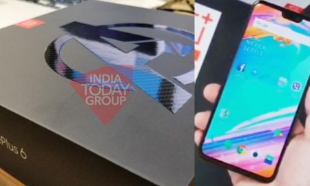 OnePlus 6 photo leak and special packgage