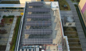 Samsung Head Quarter Solar Cell