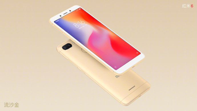 Xiaomi Redmi 6 Gold
