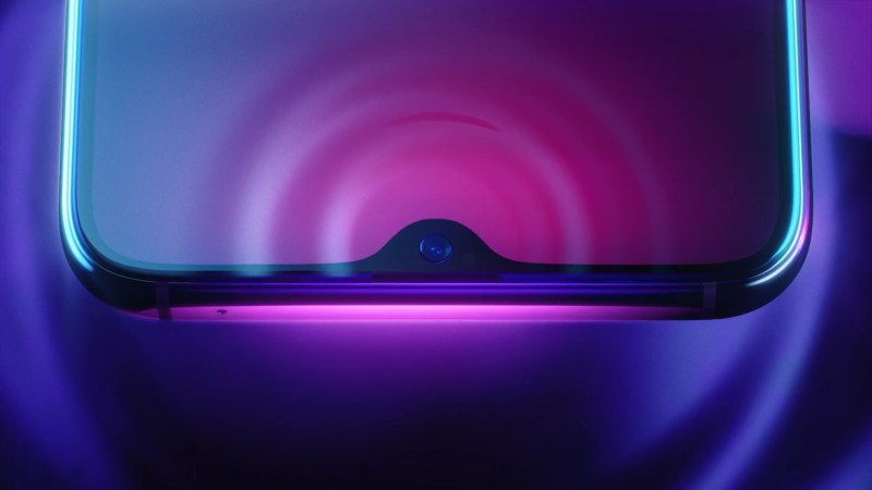 Oppo R17 Pro Waterdrop Display