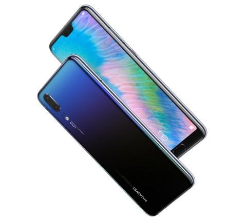 Huawei P20 Morpho Aurora