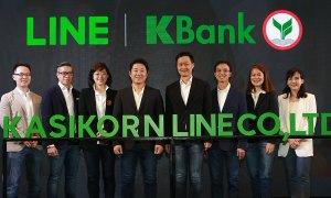 Kbank x LINE