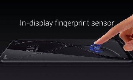 Xiaomi in display fingerprint