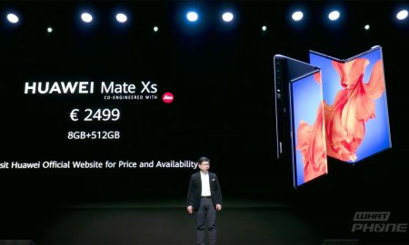 HUAWEI Mate Xs สมาร์ตโฟนจอพับได้รุ่นใหม่ เปิดตัวแล้ว ราคาประมาณ 85,800 บาท
