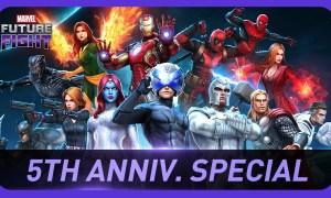 MARVEL Future Fight 5th Anniversary Special