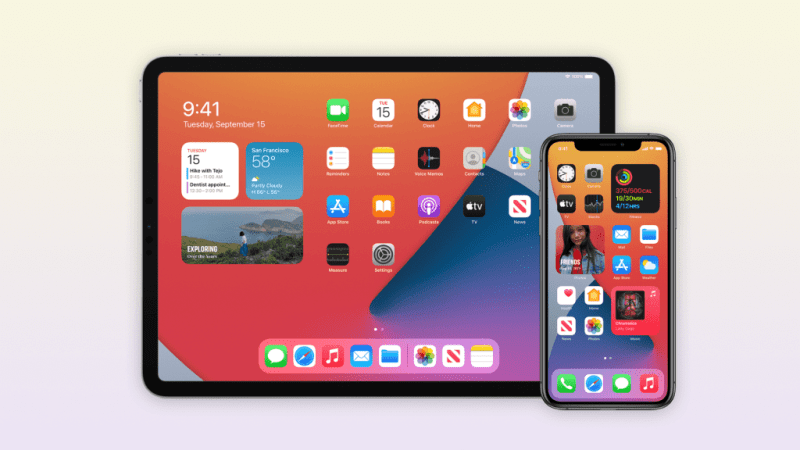 iOS 14.1 and iPadOS 14