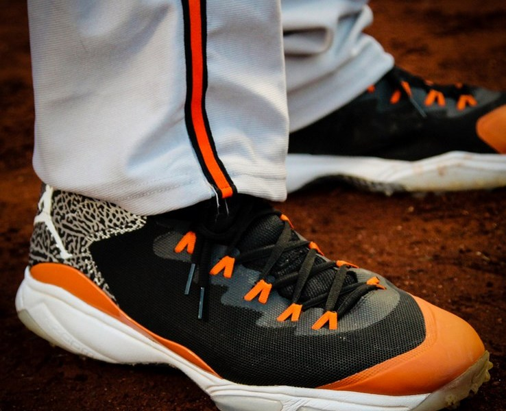 eb427783daf What Pros Wear  Manny Machado s Jordan Super.Fly 3 Cleats and Turfs ...