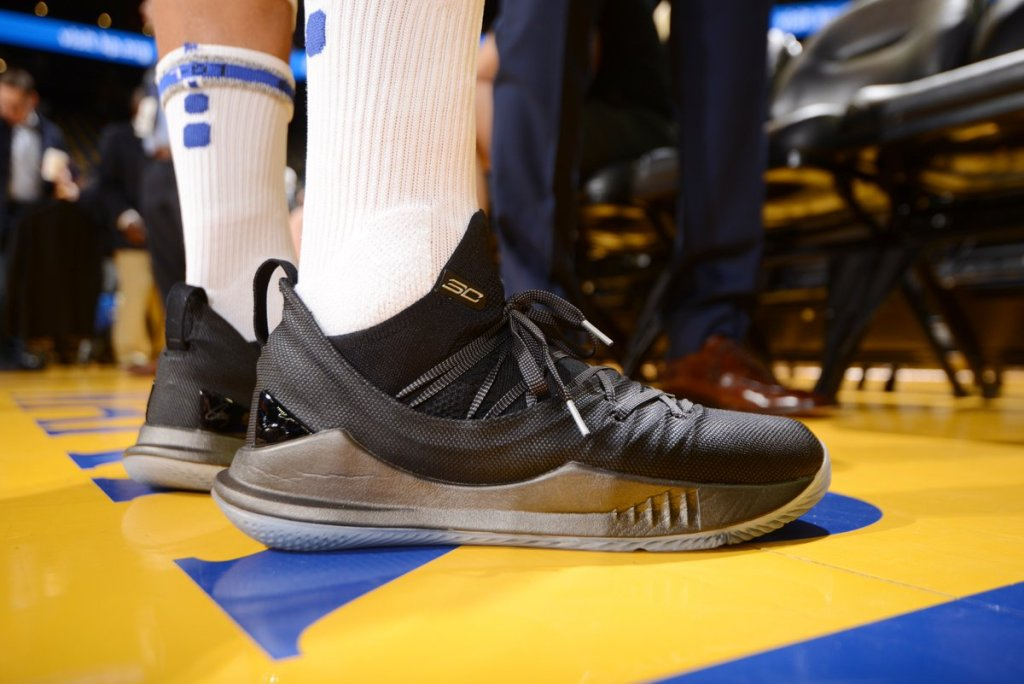 2e414906386 What Pros Wear  Steph Curry s Under Armour Curry 5 Shoes - What Pros Wear