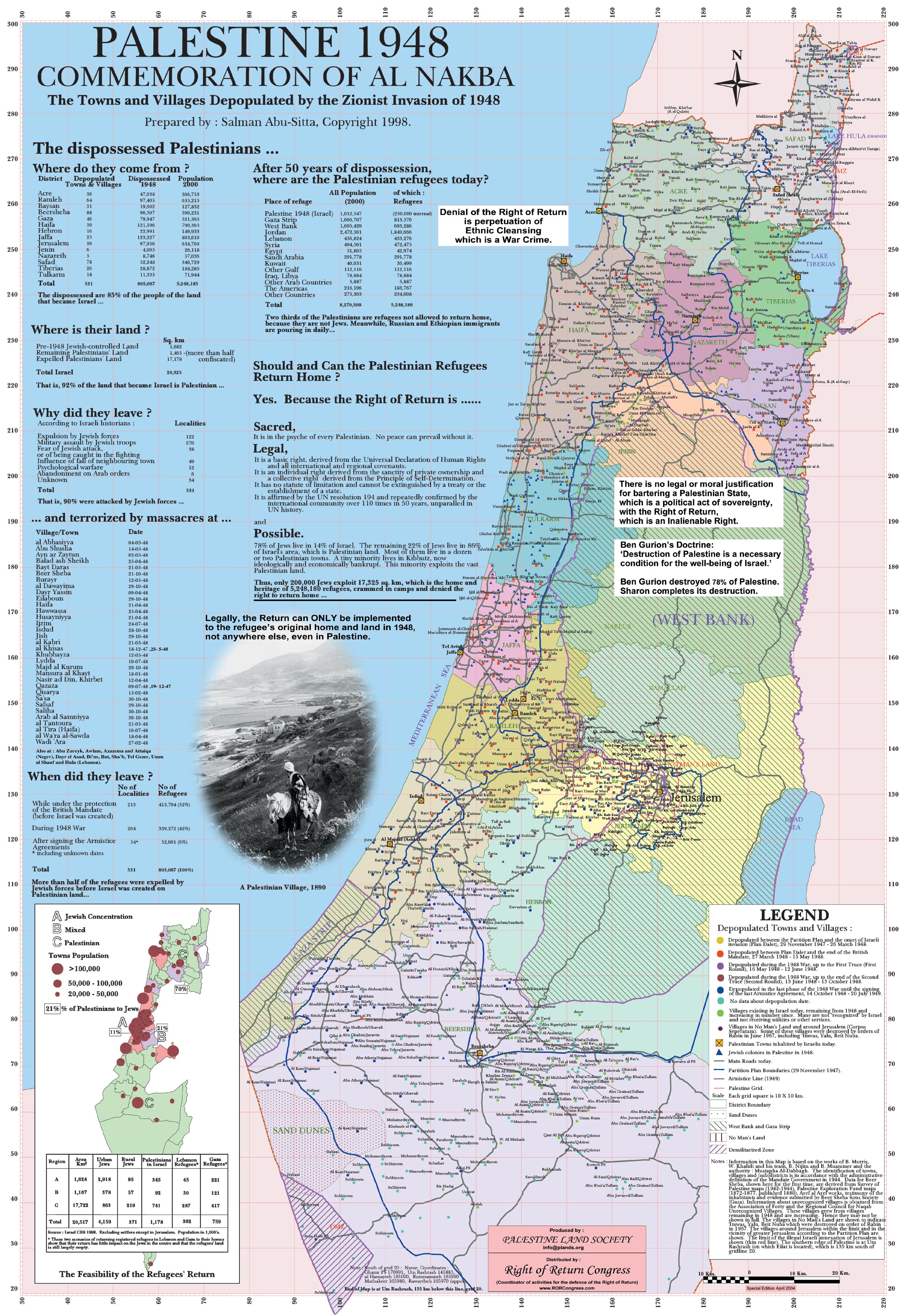 COMMENTARY Israel And Palestine The Maps Tell The True Story - Map of palestine