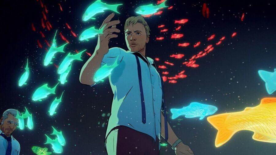 Αποτέλεσμα εικόνας για fish night netflix love, death and robots