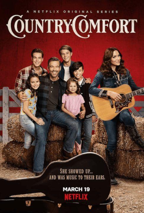 Netflix Sitcom Country Comfort Season 1 Platcast Trailer and Netflix Release Date Poster