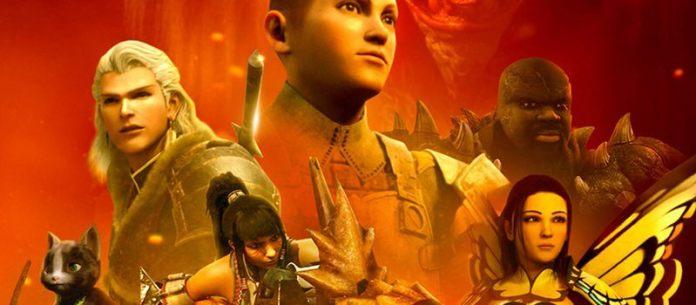 monster hunter legends of the guild netflix august 2021