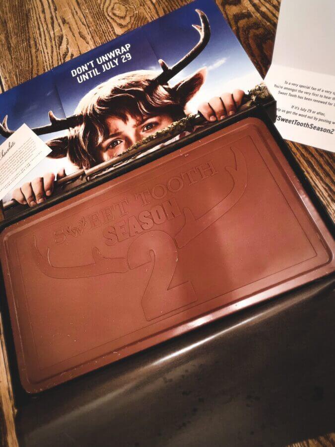 chocolate wrapper sweet tooth season 2 netflix