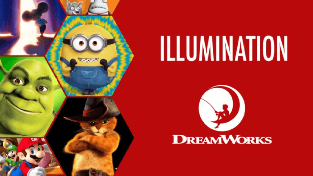 Listado de Netflix de Dreamworks Illumination