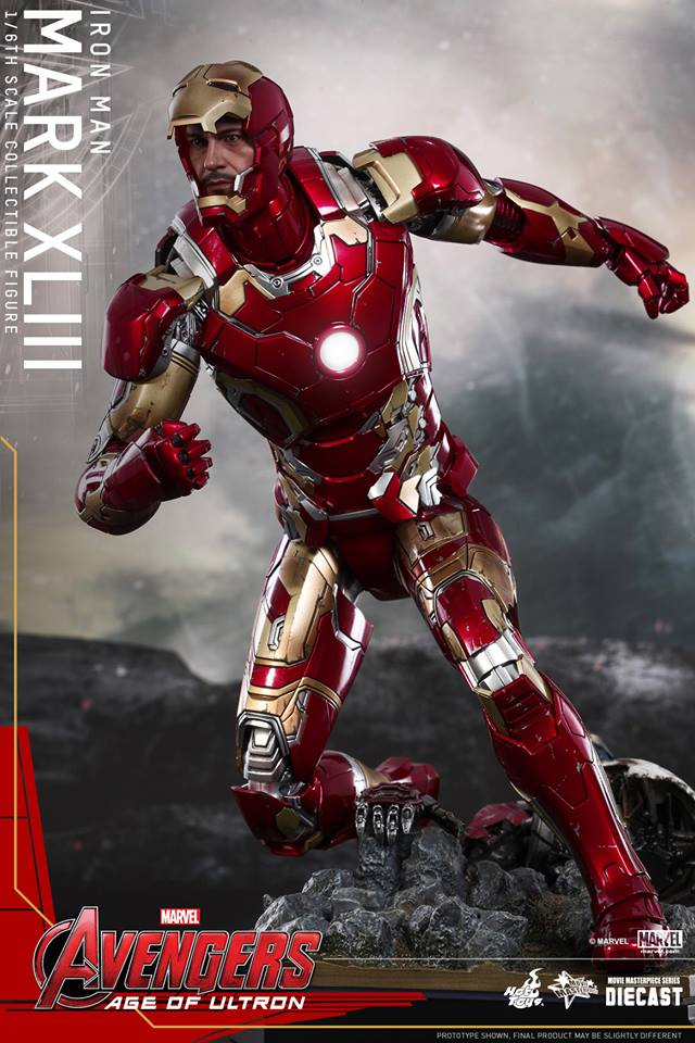 Iron Man Mark XLIII Hot Toys Avengers Age of Ultron (10)