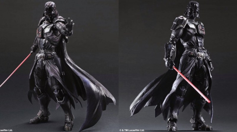 Preview Play Arts Kai Star Wars Darth Vader What S A Geek