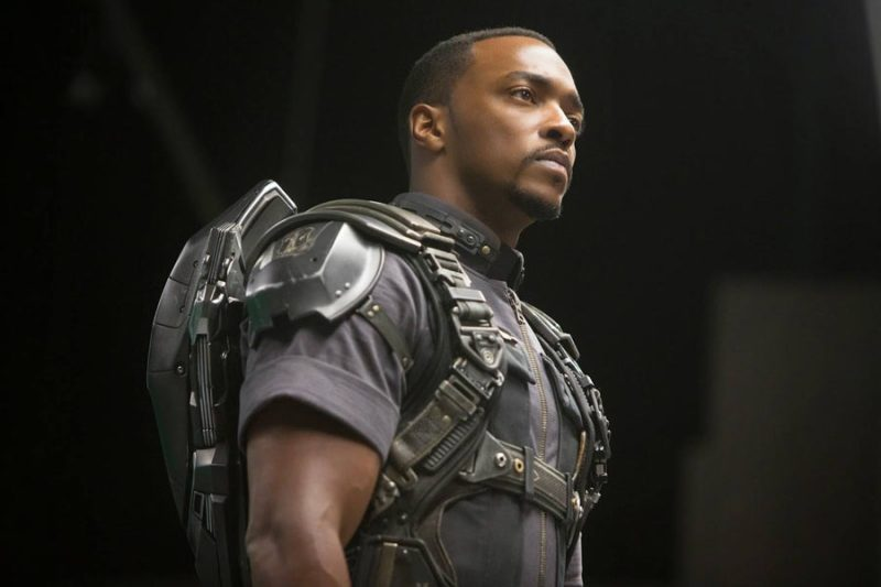 Anthony Mackie The Falcon Captain America 3