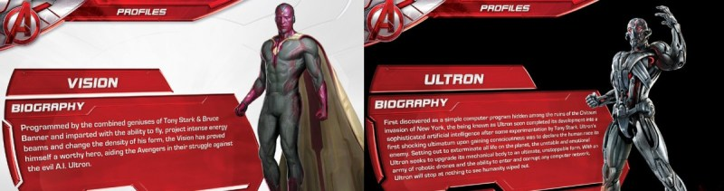 Avengers Age of Ultron promotional materials (1)