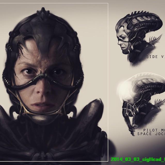 Neill Blomkamp Aliens concept art (7)