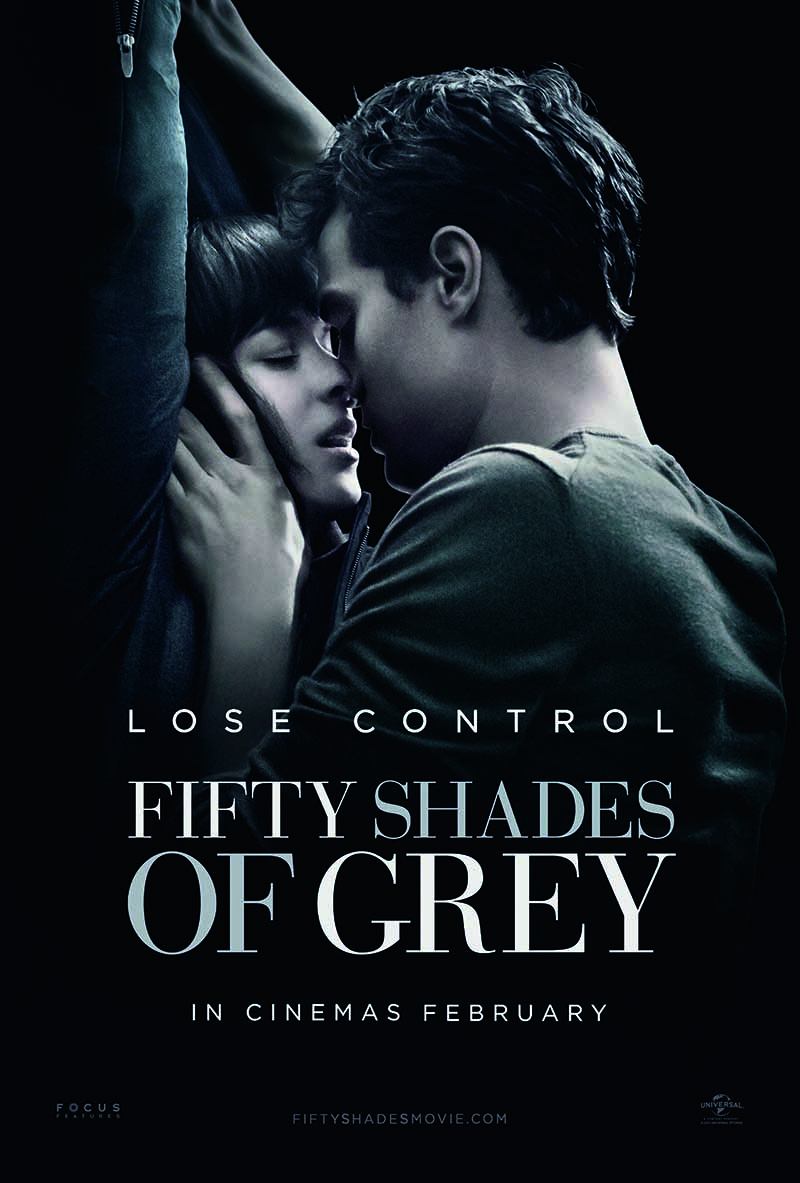 Fifty shades of grey international poster