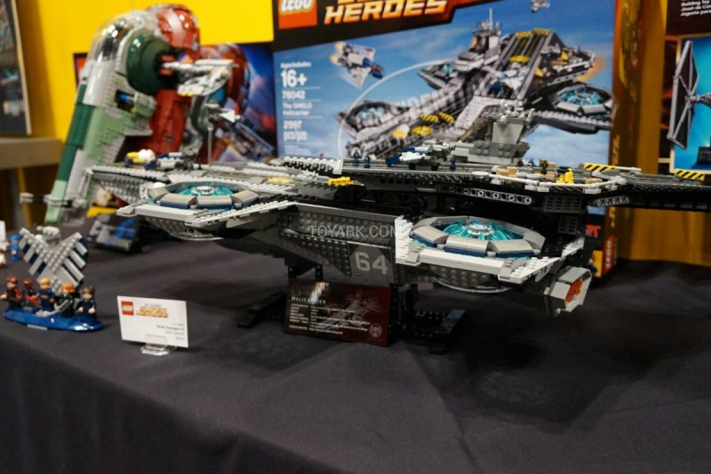 LEGO Hellicarrier toyfair 2014 (2)