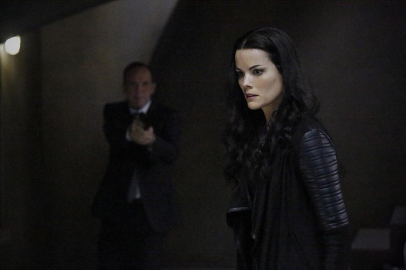 CLARK GREGG (BACKGROUND), JAIMIE ALEXANDER