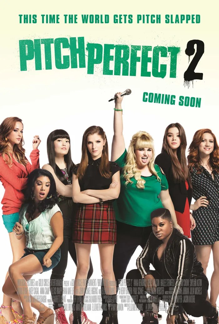 Pitch Perfect 2 Poster Front