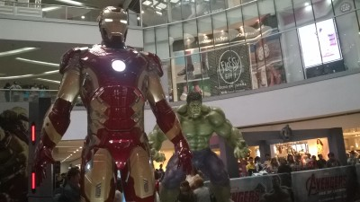 Iron Man & The Hulk