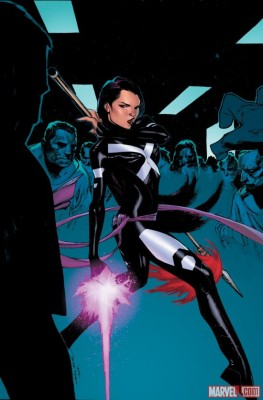 Psylocke's current look - art by Olivier Coipel