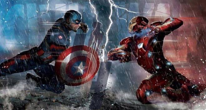 Civil war captain america 3