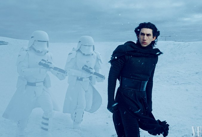 star wars the force awakens vanity fair adam driver kylo ren