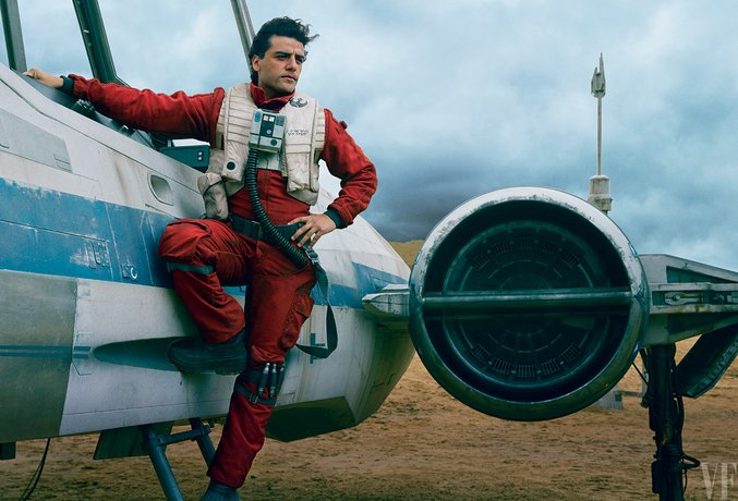 star wars the force awakens vanity fair oscar isaac