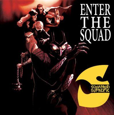 Squadron Supreme X Wu Tang Clan's Enter the Wu Tang 36 Chambers