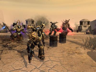 """Screenshot from Relic's """"Dawn of War II: Retribution"""""""