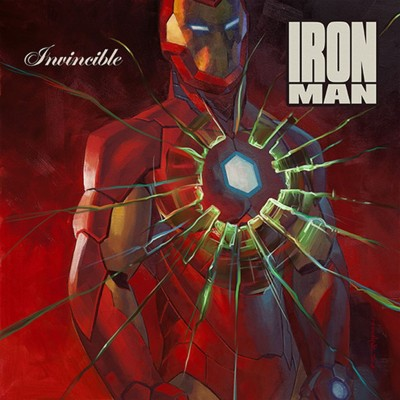 Invincible Iron Man X 50 Cent'sGet Rich or Die Trying