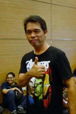 Gener Pedrina, creator of Sanduguan and Sandata!