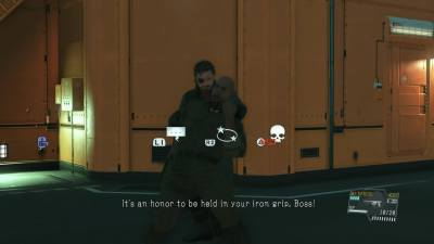 The recruits popping boners as Big Boss chokes them out