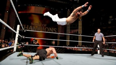 John Cena vs Seth Rollins