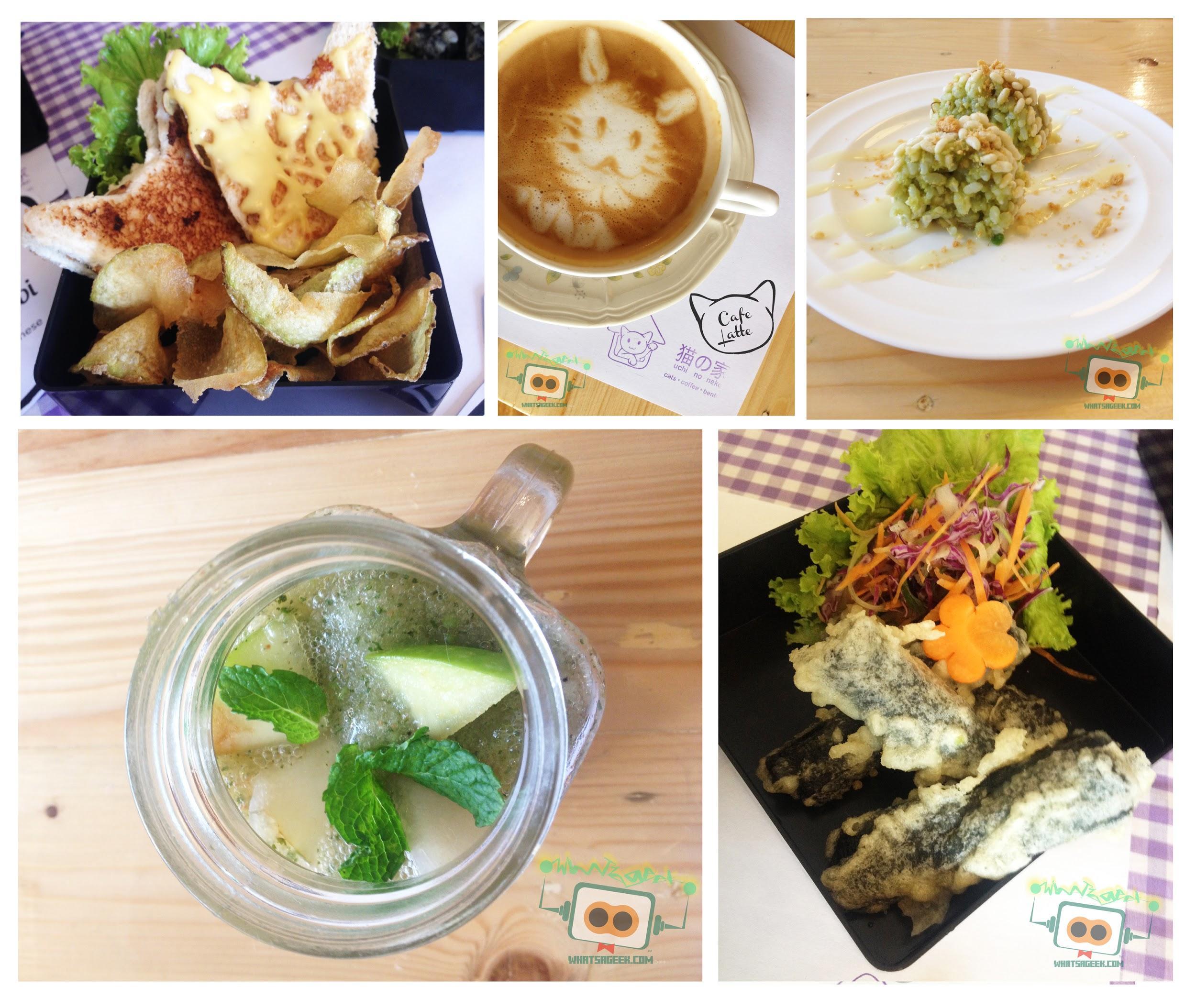 Cafe Neko Menu