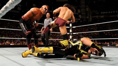 Stardust and The Ascension vs Neville and Lucha Dragons