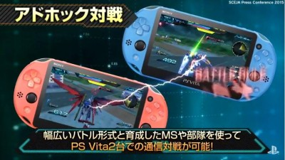 Gundam Extreme VS Force on Vita